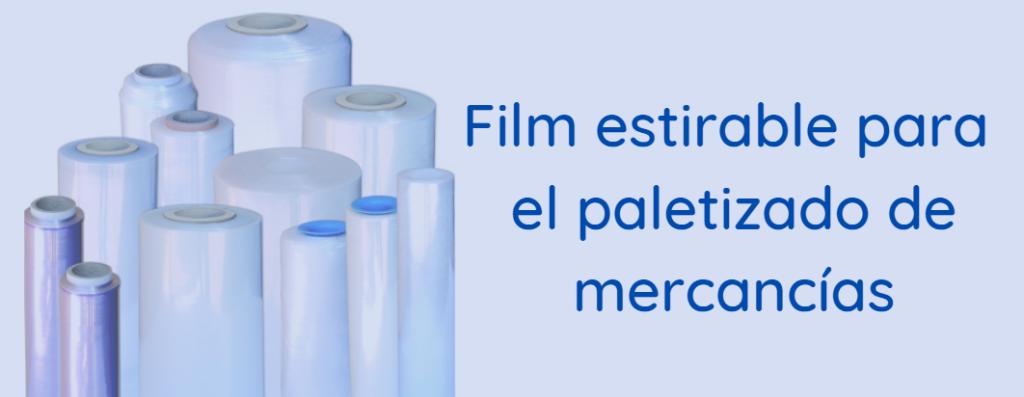 Film para paletizar mercancías